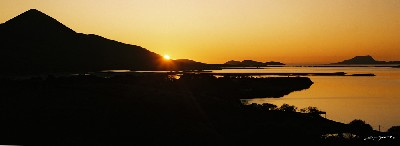 CB0523 - October Sunset, Clew Bay