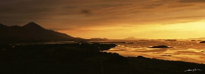 CBLYON74 - Summer Sunset, Clew Bay