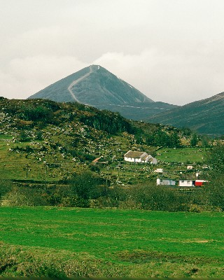 CP094 - Croagh Patrick, view from Bohea