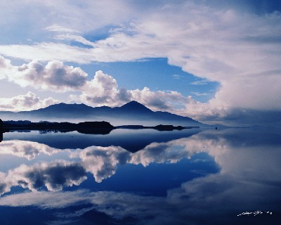 CP1127 - Reflections, Croagh Patrick